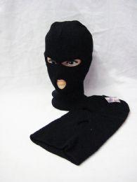 60 Units of Black Ski Mask 3 Hole - Winter Hats