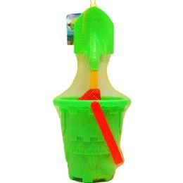 12 Units of Beach Toy Bucket - Beach Toys