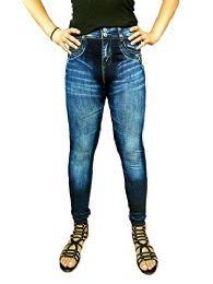 Yacht & Smith Women's Denim Jeggings Fashion Leggings One Size (style c) - Womens Leggings