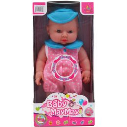 "12 Units of 11"" B/O BABY DOLL W/ SOUND & ACCSS IN WINDOW BOX, 2 ASST - Dolls"