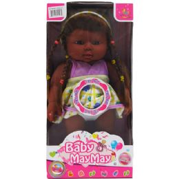 12 Units of ETHNIC BABY DOLL WITH SOUND IN WINDOW BOX - Dolls