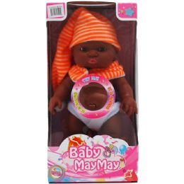 24 Units of ETHNIC BABY DOLL WITH SOUND IN WINDOW BOX - Dolls