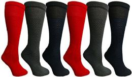 6 Units of Yacht & Smith Women's Merino Wool Socks, Size 9-11 - Womens Thermal Socks
