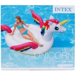 2 Units of Unicorn Island With Handles In Color Box - Summer Toys
