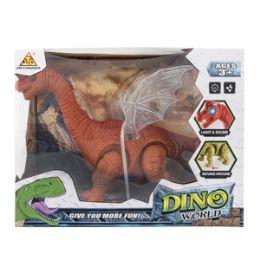12 Units of Light-up Dino World Brontosaurus with Sound - Action Figures & Robots