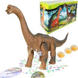 6 Units of Jumbo Walking Egg Laying Brachiosaurus - Action Figures & Robots