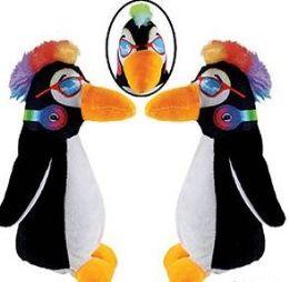 48 Units of Plush Mowhawk Penguins - Plush Toys