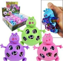 144 Units of Squishy Gel Bead Pig Stress Balls - Slime & Squishees
