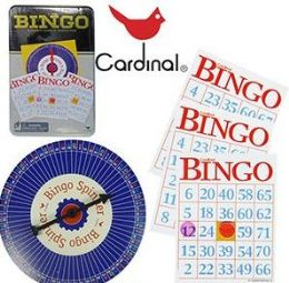 18 Units of Cardinal Classic Bingo Sets - Dominoes & Chess
