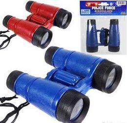 144 Units of Police Force Toy Binoculars - Binoculars & Compasses