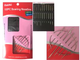 144 Units of 18pc Sewing Needles - Sewing Supplies