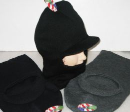 24 Units of Adult Winter Hat in Assorted Colors - Winter Hats