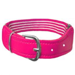 72 Units of Kids Belt Stretchable Pink - Kid Belts