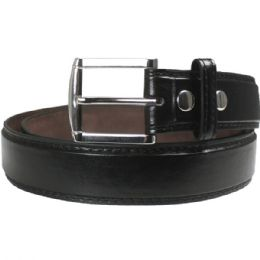 36 Units of Men Belt Medium In Black - Mens Belts