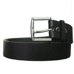 36 Units of Mens Dress Belt In Black - Mens Belts