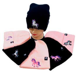 36 Units of Unicorn Knitted Cuffed Hat - Fashion Winter Hats