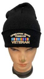 36 Units of Operation Iraqi Freedom Veteran Black Winter Beanie - Winter Beanie Hats