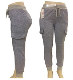 12 Units of Lady's Joggers in Assorted Colors and Sizes - Womens Leggings