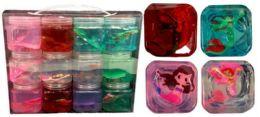 72 Units of Mermaid Crystal Mud Putty - Slime & Squishees