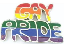 12 Units of Gay Pride Rainbow Belt Buckle - Belt Buckles