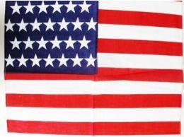 96 Units of American Flag Bandana - Bandanas