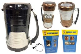 12 Units of Camping Light Solar and USB Charger - Camping Gear