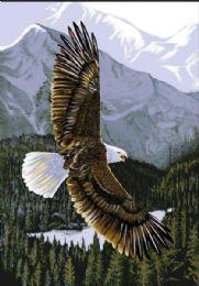 4 Units of El Toro Queen Soaring Eagle Blanket - Fleece & Sherpa Blankets