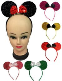 72 Units of Hair Band Assorted Colors - Headbands