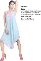 48 Units of Rayon Denim Umbrella Dresses - Womens Sundresses & Fashion