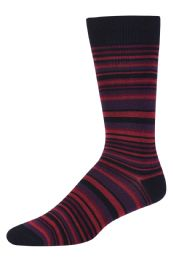 120 Units of Men's Bamboo Nylon Spandex Crew Dress Socks - Mens Dress Sock