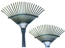 """24 Units of Garden Rake Head 17x15.3"""" - Garden Cleanup Aids"""