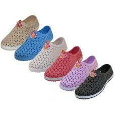 36 Units of Women's Wave Soft Light Weight Slip On Sandals - Women's Flip Flops