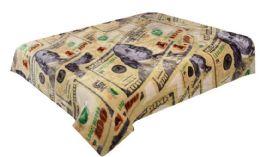 4 Units of Hiyoko Blanket Queen Hundred Dollar Bills - Fleece & Sherpa Blankets