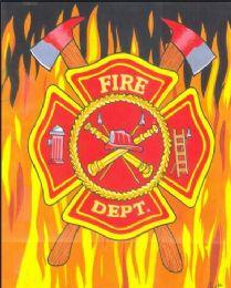 4 Units of Fire Department Millenium Queen Blanket - Fleece & Sherpa Blankets