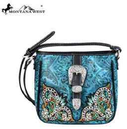 4 Units of Montana West Buckle Collection Crossbody - Handbags