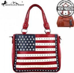 2 Units of Montana West American Pride Concealed Handgun Collection Handbag - Handbags