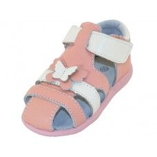 24 Units of Toddlers 3D Leather Upper Sandals - Toddler Footwear