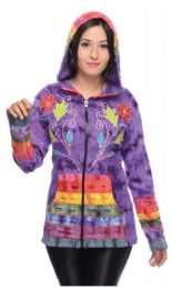 5 Units of Nepal Handmade Cotton Jackets With Patchwork Pockets - Women's Winter Jackets
