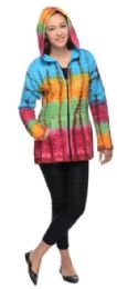 5 Units of Nepal Handmade Cotton Jackets with Hood Pastel Color - Women's Winter Jackets