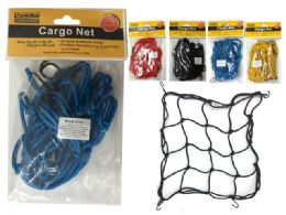 96 Units of Assorted Colors Cargo Net - Auto Accessories