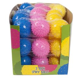 15 Units of 3 Pack Spiky Bouncing Ball - Balls