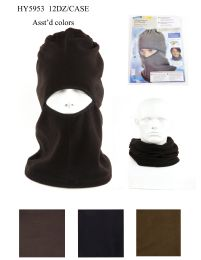 72 Units of Fleece Multipurpose Face Neck Warmer - Winter Hats