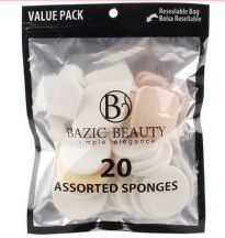 36 Units of Make-Up Blender Sponges Resealable bag 20 Piece count - Eye Shadow & Mascara