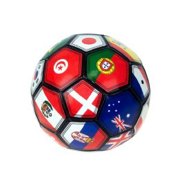 30 Units of Kids Soccer Balls Size 5 In MultI-Country Print - Sports Toys
