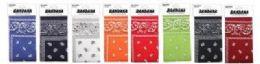 48 Units of Assorted Color Bandanna And Mix Prints - Bandanas