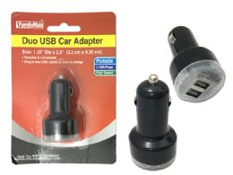 144 Units of Duo Usb Adapter Car Packing - Chargers & Adapters