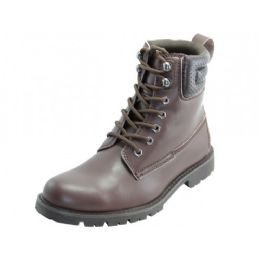 """12 Units of Men's """"himalayans"""" 6.5 Inches Insulated Leather Upper Boots - Men's Work Boots"""