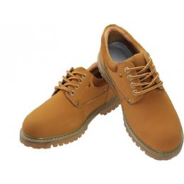 """12 Units of Men's """"himalayans"""" Ankle Height Insulated Leather Upper Shoes - Men's Work Boots"""