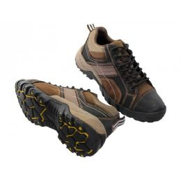 """12 Units of Men's """"himalayans"""" Hiker Ankle Height Insulated Leather Upper Sneakers - Men's Work Boots"""