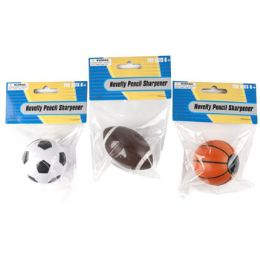 96 Units of Pencil Sharpener Novelty Sports - Sharpeners
